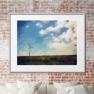 West Texas Wind Turbine