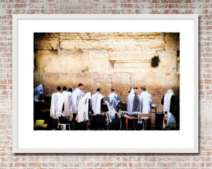 Western Wall Prayers Print