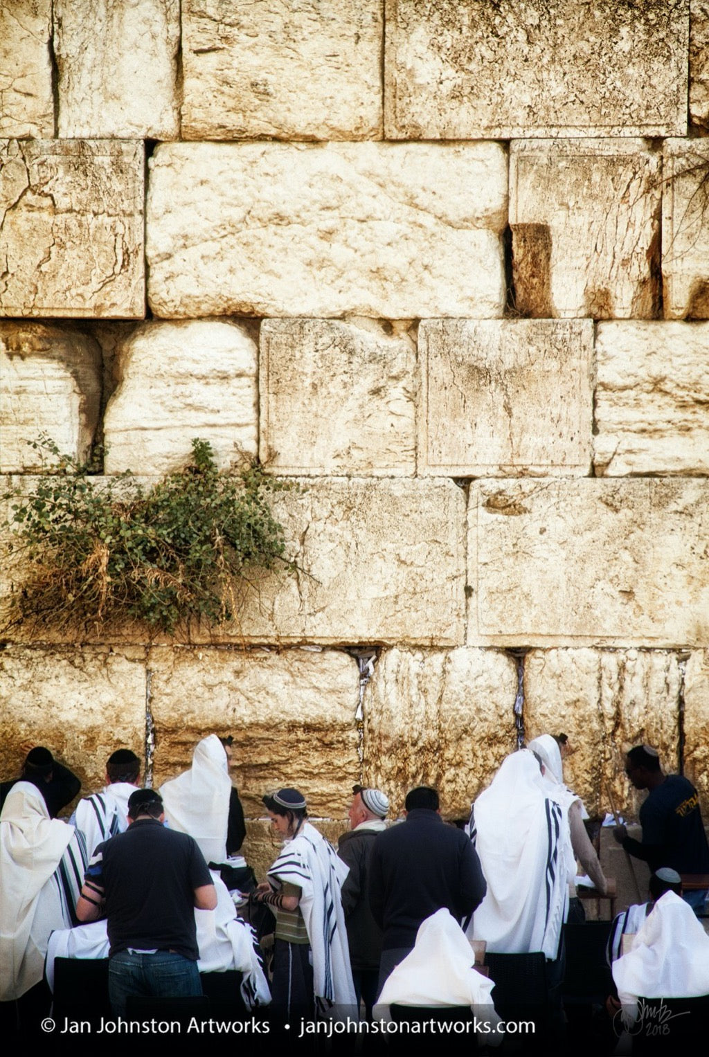 Western Wall Prayers Vertical