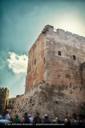 Within the Jaffa Gate Jerusalem Print