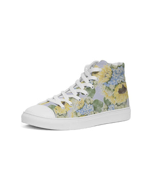 Jo's Bouquet Women's Hightop Canvas Shoe