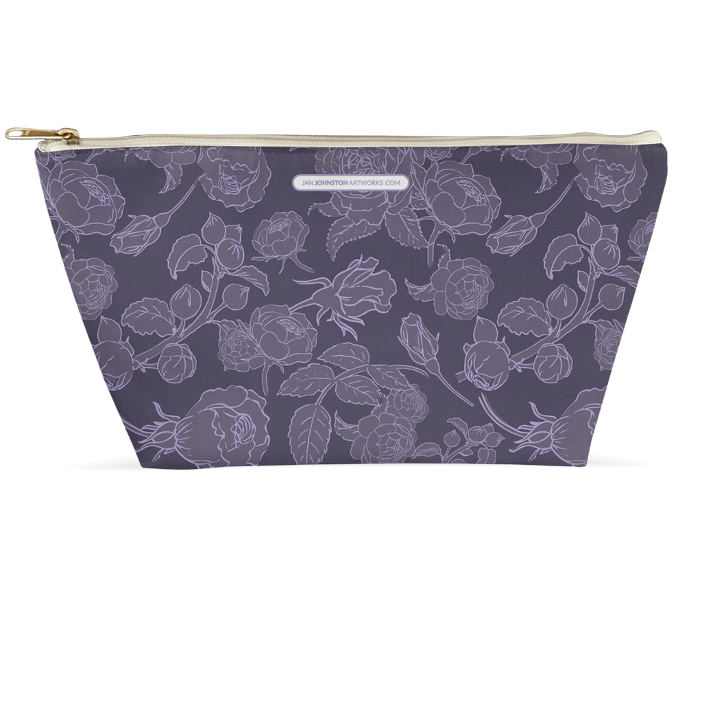 Purple Rose Accessory Pouches