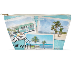 Caribbean Travel Accessory Pouch 12.5x7