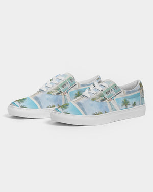 Photos from the Islands - Women's Lace Up Canvas Shoe