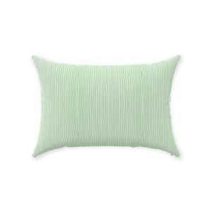 Dark Green Stripe 14x20 Throw Pillows