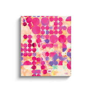 Pink Terra Firma Canvas Wrap