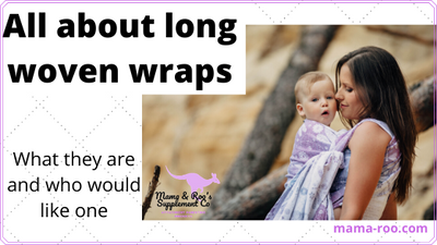 All About Long Woven Wraps,  Part 1: What is a long woven wrap and who might like one?