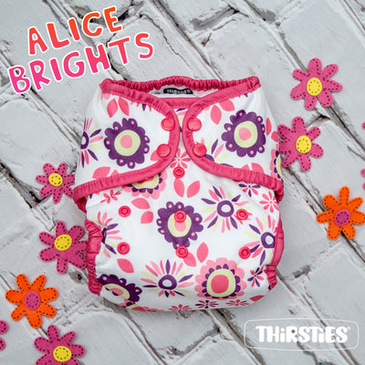 Alice Brights - A Limited Edition Floral Thirsties Release, Available Feb 20th