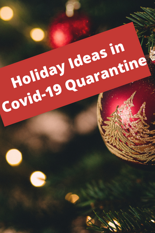 Holiday Ideas in Covid-19 Quarantine