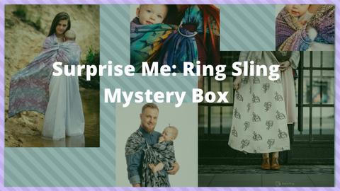 Surprise Me Mystery Ring Sling box