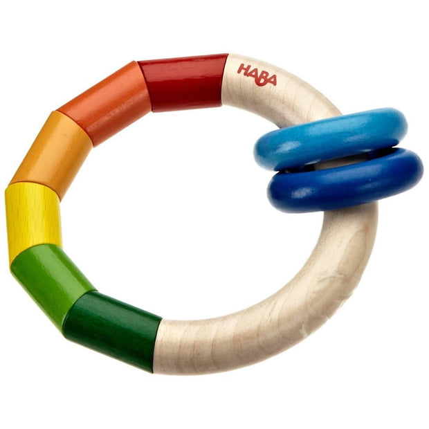 Haba wooden Kringelring Clutching Toy. Made in Germany.