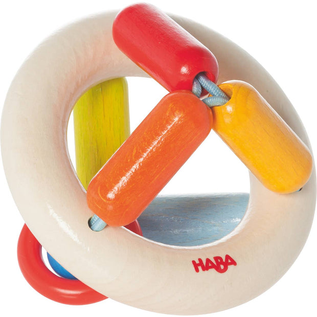 Clutching Toy Rainbow Round - Wood Toy by Haba