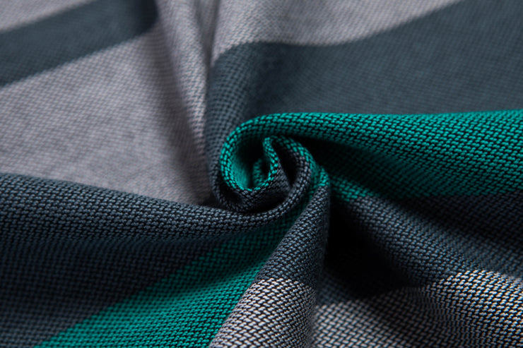 Long Woven Wrap, Smoky Mint