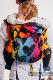 Carrier - Onbuhimo - Print - Lovka - Rainbow Dark