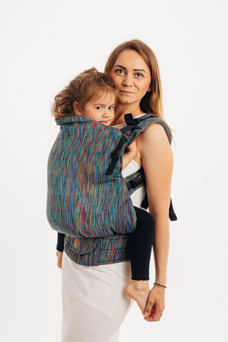 Lenny Preschool Carrier, Colorful Wind