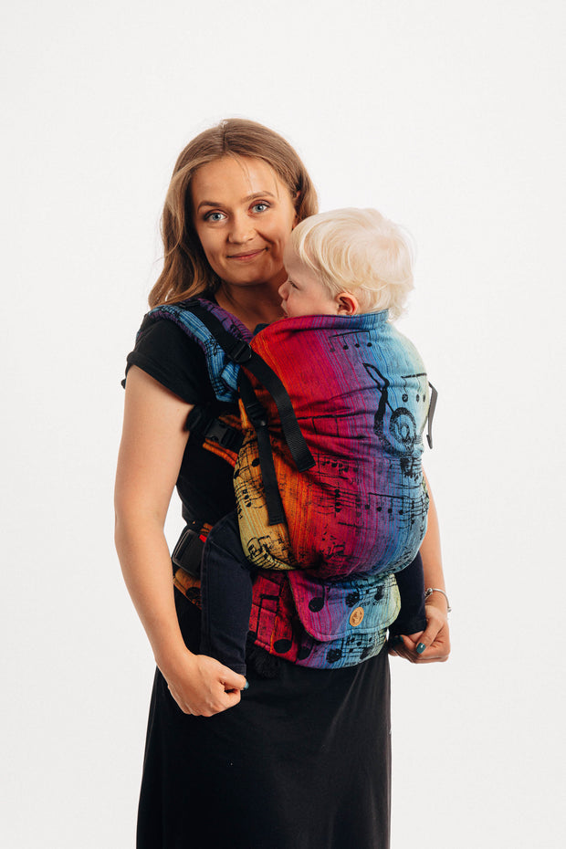 Lenny Preschool Carrier, Symphony Rainbow Dark
