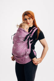 Lenny Preschool Carrier, Lotus - Purple, Linen