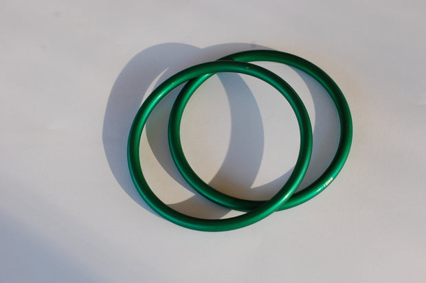 Large Green Sling Rings