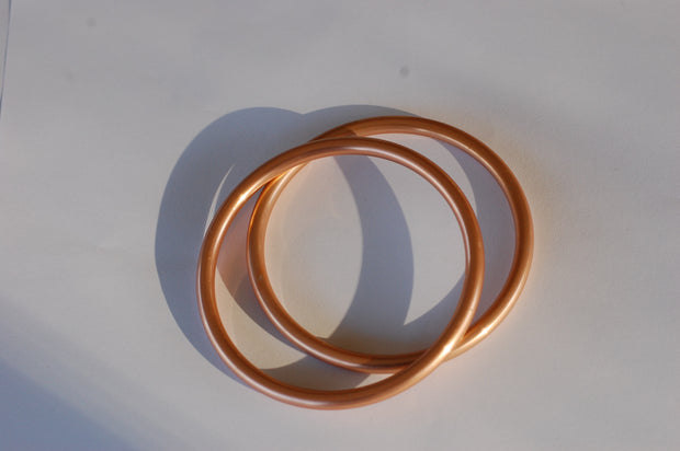 Large Copper sling rings