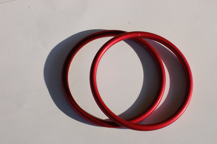 Large red sling rings