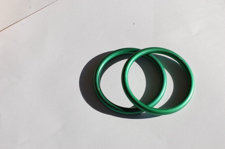 small green sling rings