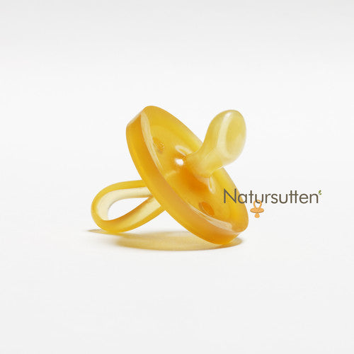 Natursutten rubber orthodontic nipple Original pacifier. Made in Italy
