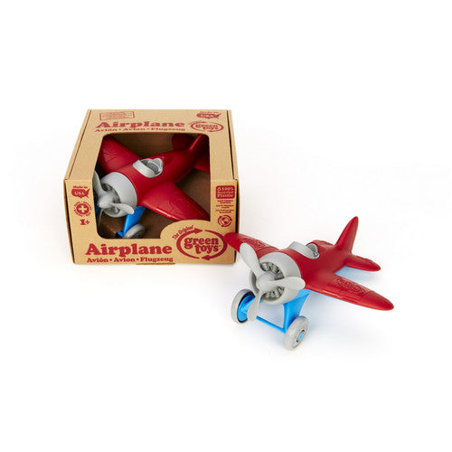 Airplane from Green Toys. Made in the USA