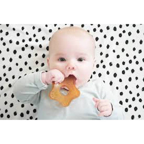 Natursutten rubber teether. Made in Italy