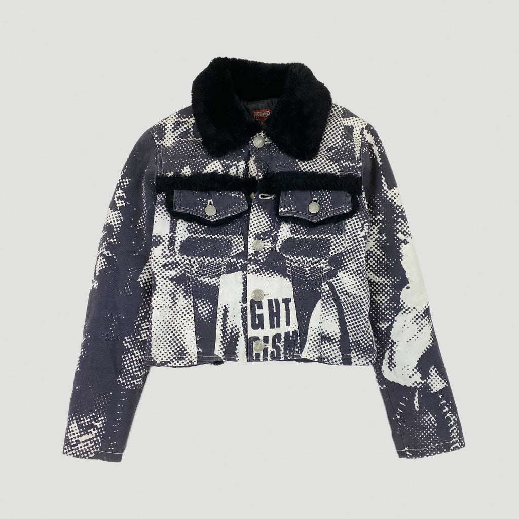 "Jean Paul Gaultier AW1997 ""FIGHT RACISM"" Jacket"