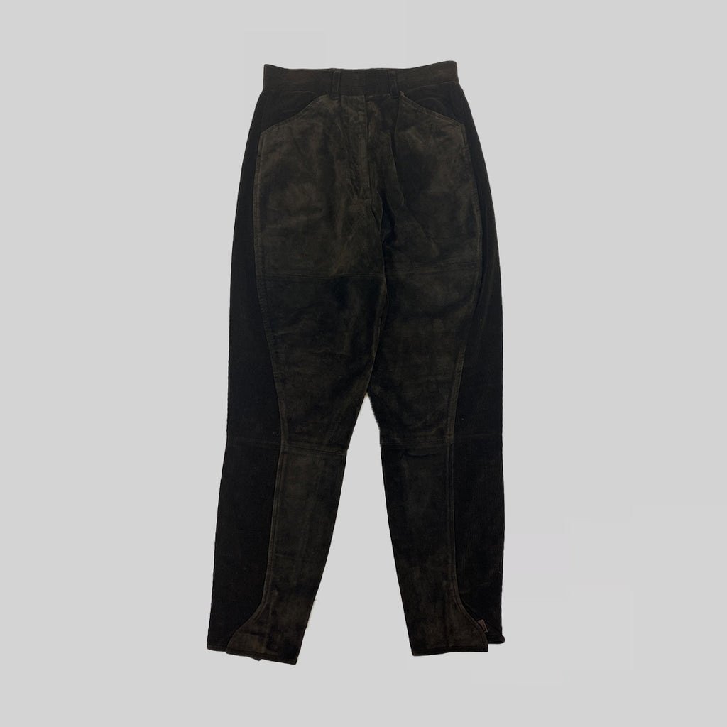 Prada AW2012 Corduroy Patch Trousers