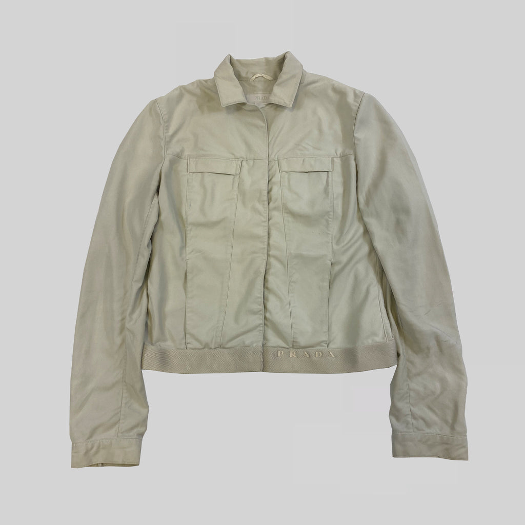 Prada Mainline 2000s Cropped Jacket