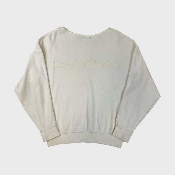 Issey Miyake 1990s Cropped Sweater
