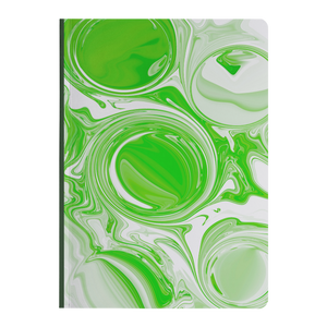Abstract Circles - Paperback Notebook