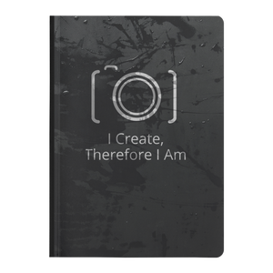 I Create Therefore I Am - Paperback Notebook