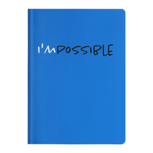 I'mPossible - Paperback Notebook