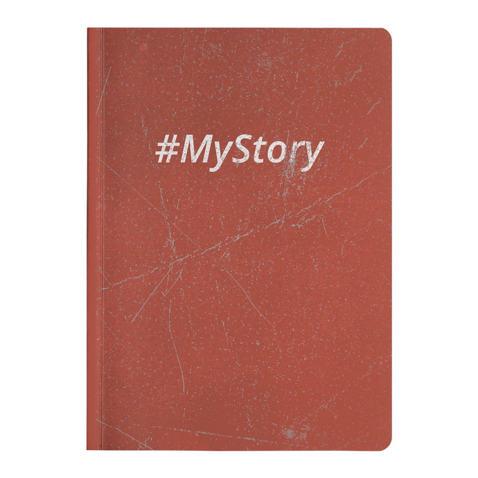 #MyStory Vintage - Paperback Notebook - Red