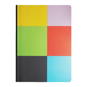 Colorful Blocks - Paperback Notebook