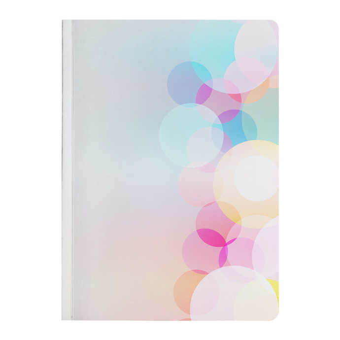 Colorful Circles - Paperback Notebook