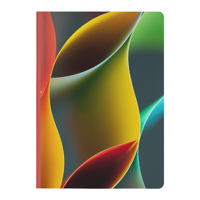 Abstract Paper - Paperback Notebook