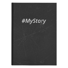 Load image into Gallery viewer, #MyStory Vintage - Hard Cover Notebook - Black