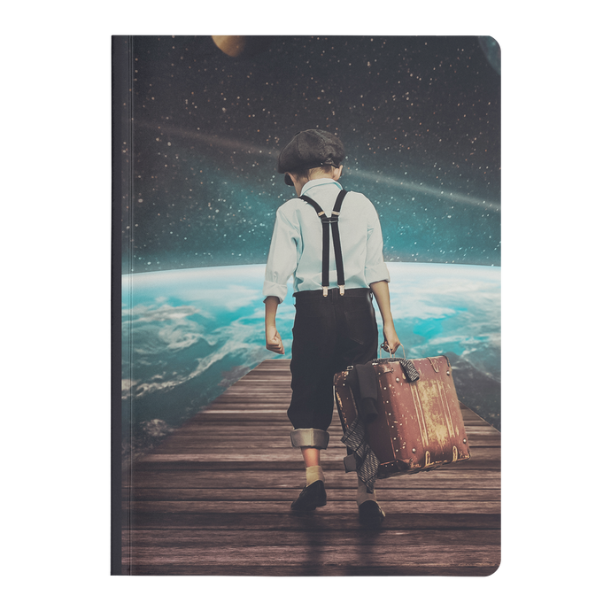 Escape to Reality - Paperback Notebook