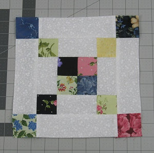 How to Sew a 6-Grid Chain Quilt Block