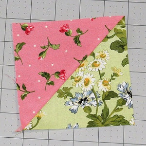 How to Sew a Basic Half Square Triangle Block