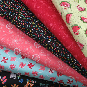 Sneak Peek of Patchwork Parcel Quilting Subscription Kit for March