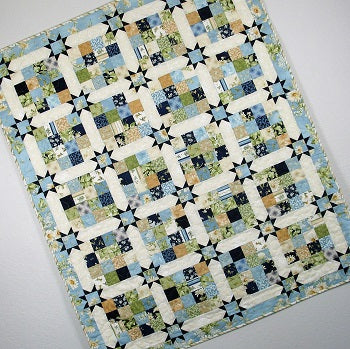 sixteen patch stars quilt