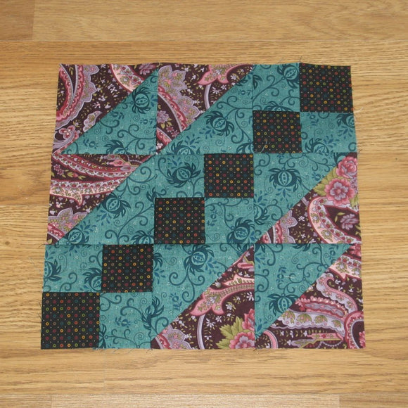 Steps to the Altar Quilt Block