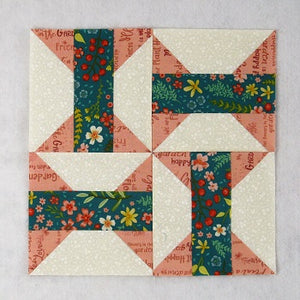 Easy Arkansas Traveler Quilt Block - Free Tutorial