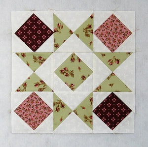 Blocks and Stars Traditional Quilt Block Tutorial