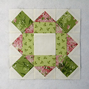 Traditional Quilt Block - Castle Tower Tutorial