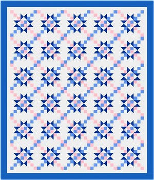 Chained Star Quilt Layouts